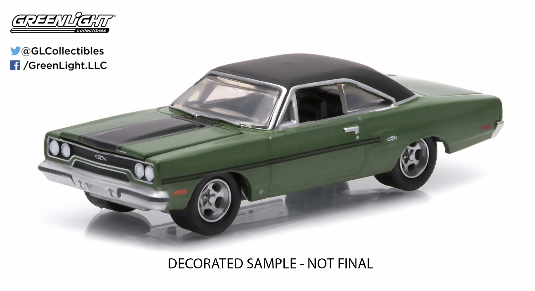 Greenlight Collectibles 1970 Plymouth Gtx Muscle Series 12